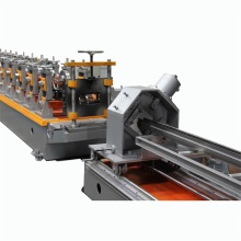Σούπερ μάρκετ Shelf Metal Storage Rack Roll Forming Machine