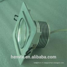 Gimbal rectangular led downlight manufacturer