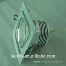 Gimbal retangular levou downlight fabricante