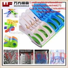 OEM personalizado plástico pinzas de ropa molde / Alibaba inyección de plástico pinzas de ropa molde proveedor
