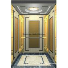 Machine d'ascenseur d'ascenseur de passager Roo et salle de machine moins