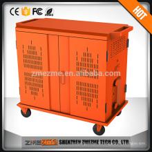 Port de chargement de stockage en métal de 2 portes pour l'ordinateur portable / ipad / comprimé / téléphone portable / téléphone portable