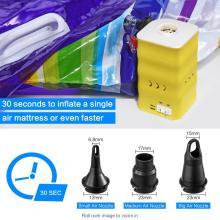 Battery Air Pump Inflator for Yoga Ball