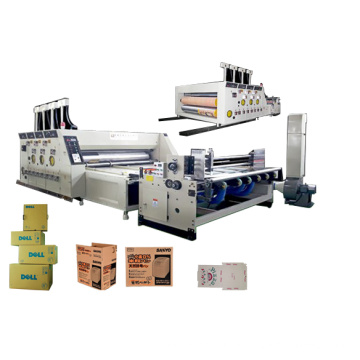 Automatic Flexo Printing and Die Cutting Machine