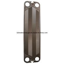 Компонентные пластины теплообменника и прокладки (равны V110)