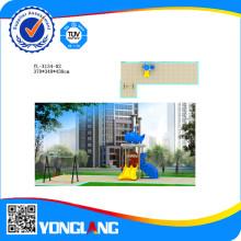 Пластиковый слайд для детей