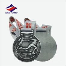 Medalha de esportes de metal personalizado personalizada em 3D