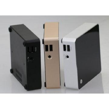 Le dernier PC Slim Core I7 sans ventilateur Mini Nuc HTPC Xbmc Kodi Windows 10