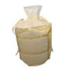 Circular Big Bag / Jumbo Bag FIBC mit zwei Gürteln