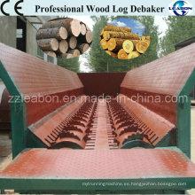 Profesional de la madera de la corteza de la corteza Peeling Machine