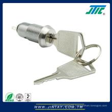 12mm micro switch lock with 2 keys