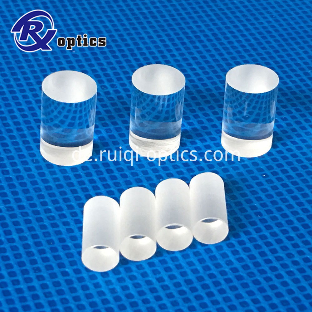 Optical Convex Cylindrical Rod Lens