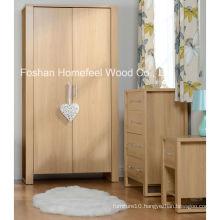 3 Piece Fashion Wooden Decor Bedroom Furniture Set (BD24)