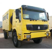 Carro de taller móvil Sinotruk 4X4
