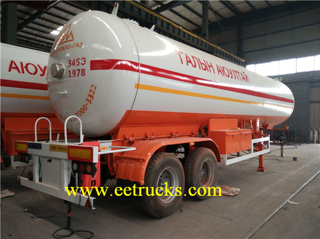 2 Axle LPG Trailer Tanks