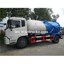 Dongfeng 10 CBM Dung Suction Trucks