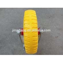 8X2.50-4 PU foam solid castors