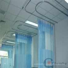 Les rideaux de l'hôpital de la dernière technologie de Chine avec la voie à vendre