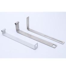 Factory supply custom stamping Straight Steel Brace flat brace L shape brackets