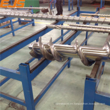 capa de aleación y barril del tornillo bimetálico forro goma