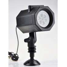 Lampe laser de paysage de flocon de neige LED Lumière de Noël