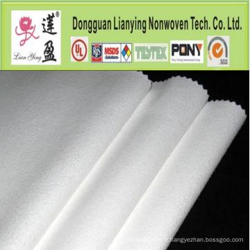 Non-tissé à l'aiguille à la fibre de bambou pour l'ouate