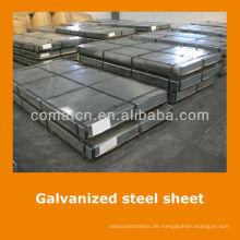 JIS standard Aluzinc galvanisierte Stahlspule Blatt