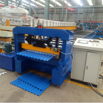 Färgpanel Corrugated Roof Sheet Making Machine
