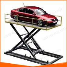 extra thin hydraulic scissor mobile lift
