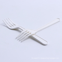 100% Compostable CPLA cutlery fork disposable knife and fork biodegradable