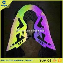 Etiqueta reflectante de alta visibilidad visible de la ropa TPU