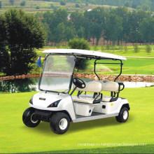 Аттестованный CE 4 сиденья Электрические четыре колеса тележки для гольфа ДГ-С4