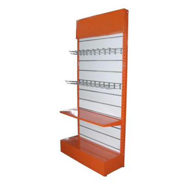 Hochwertiges Metall Slatwall Halter Hardware Display Rack