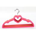 Heart Shape lovely Baby Clothes Velvet Hanger Mini Kids Flocking Hanger