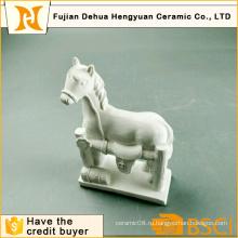 DIY игрушка Paintable White Gypsum Horse Craft для настольного подарка