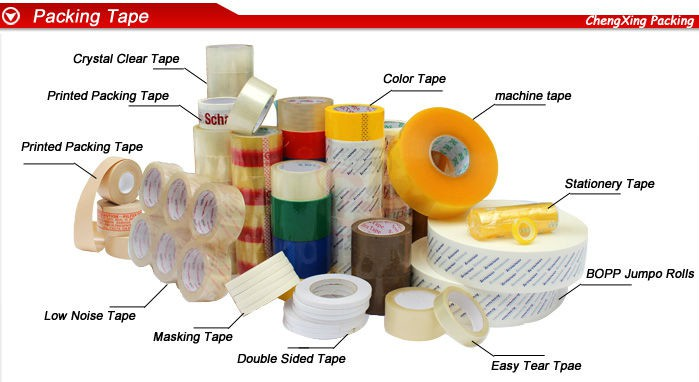 Acrylic Adhesive Tape with Company Logo