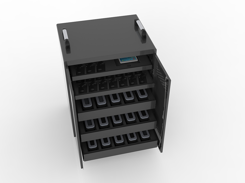 VR device charging carts