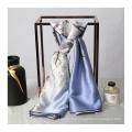 Bufanda de seda pura de 16MM 89 * 89CM 100% para mujer