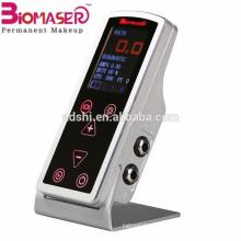 Máquina de tatuagem de toque de alumínio do CNC, fonte de alimentação do tatuagem do biomaser para o dispositivo do tatuagem