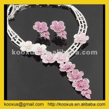 China Yiwu bridal casamento jóias fabricante