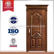 Mejor puerta de madera de diseño de la puerta principal
