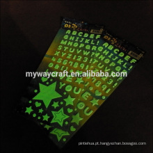Etiqueta de preço de fábrica, brilho na impressão de etiquetas escuras