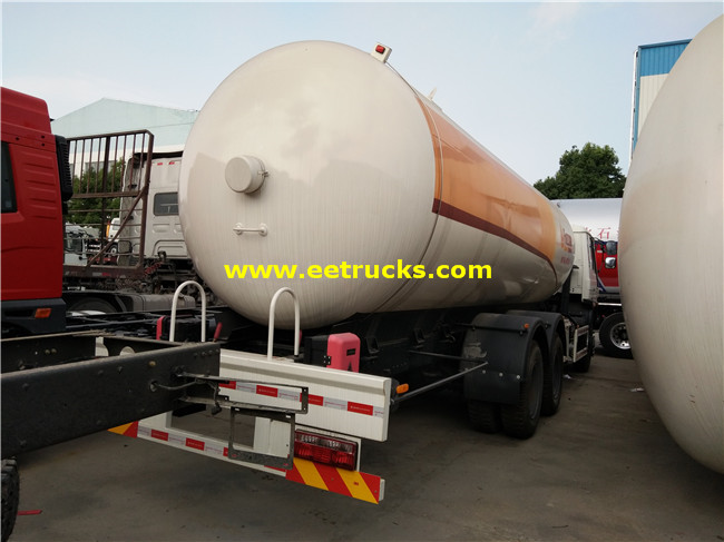 13 Ton LPG Delivery Tankers