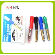 Caneta de marcador de tinteiro recarregável não tóxico (6605), caneta de papelaria