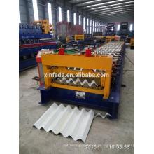 C65 automática hoja de techos de la máquina de laminación / hoja de acero de acero laminado que forma la máquina