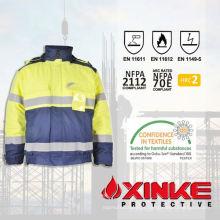 EN471 casaco vis fr alto para trabalhadores de soldagem