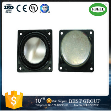2watt Square Micro Mylar Cone Speaker with LCD Monitor