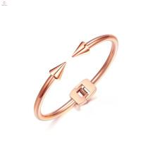 Nouveau Simple Bracelet en acier inoxydable flèche manchette Bracelet ongles