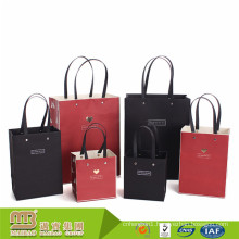 Gold Stamping Retail Luxury Logo Printed Custom Made Gift Paper Bags for Shopping