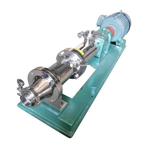 GF stainless steel sanitary grade single screw pump 1